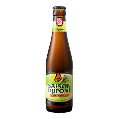 5410702000805 Saison Dupont Bio - 25cl Bottle conditioned organic beer (control BE-BIO-01)